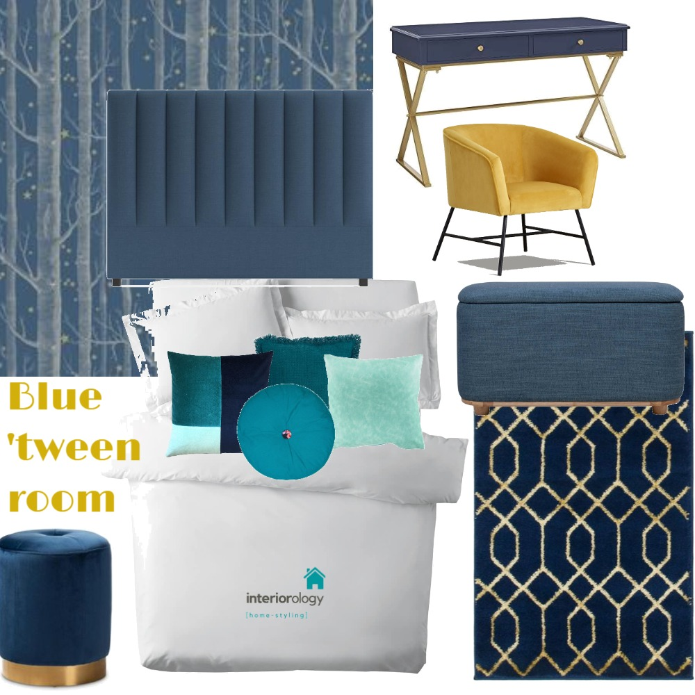 Tween bedroom makeover Interior Design Mood Board by interiorology on Style Sourcebook