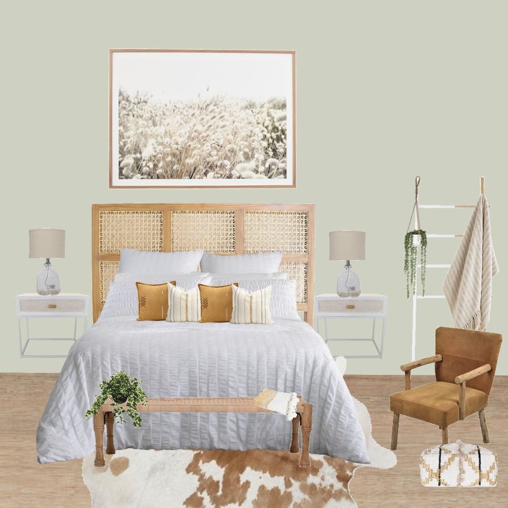 Australiana Bedroom Interior Design Mood Board by Simplestyling on Style Sourcebook