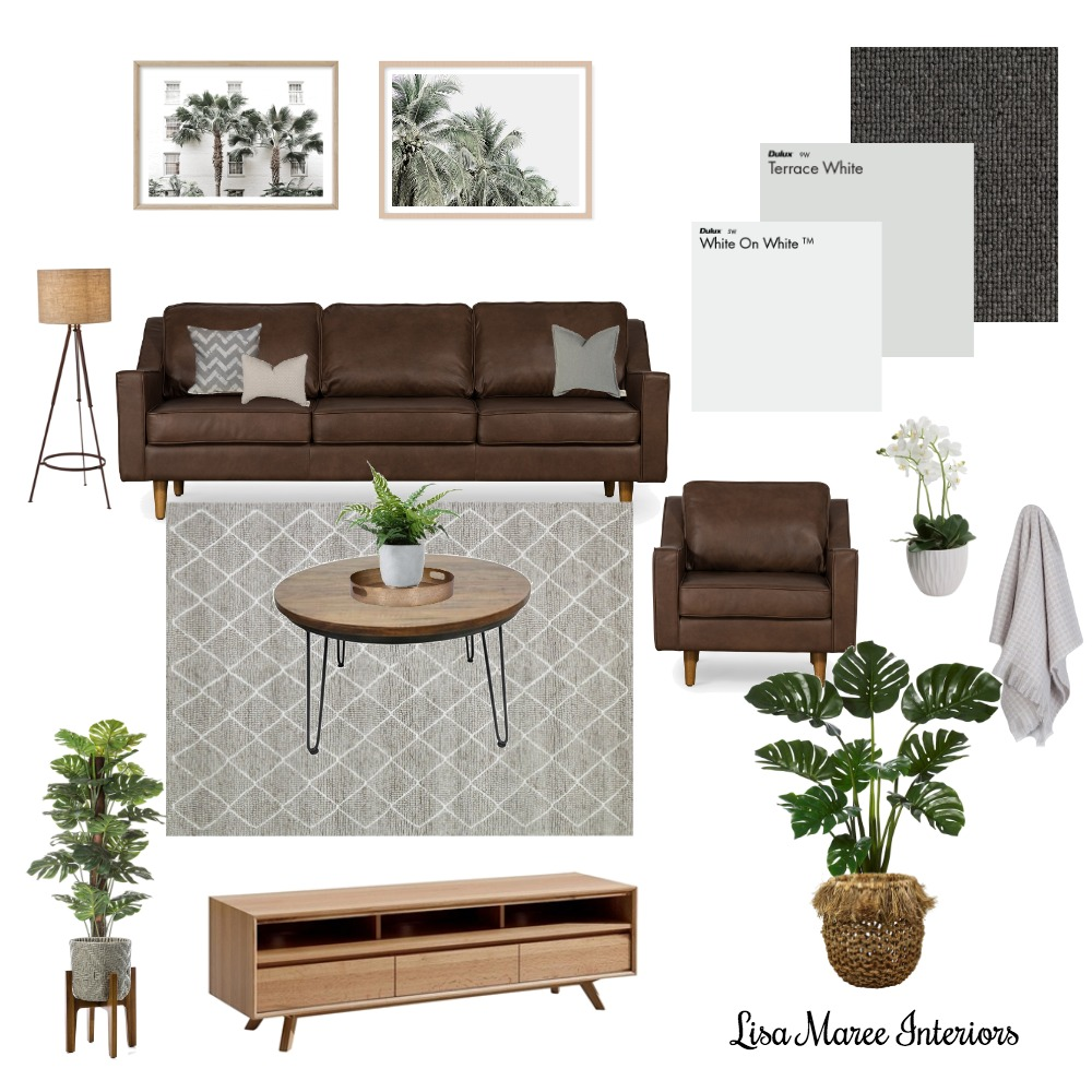 Living Room - Sharon Mood Board by Lisa Maree Interiors on Style Sourcebook