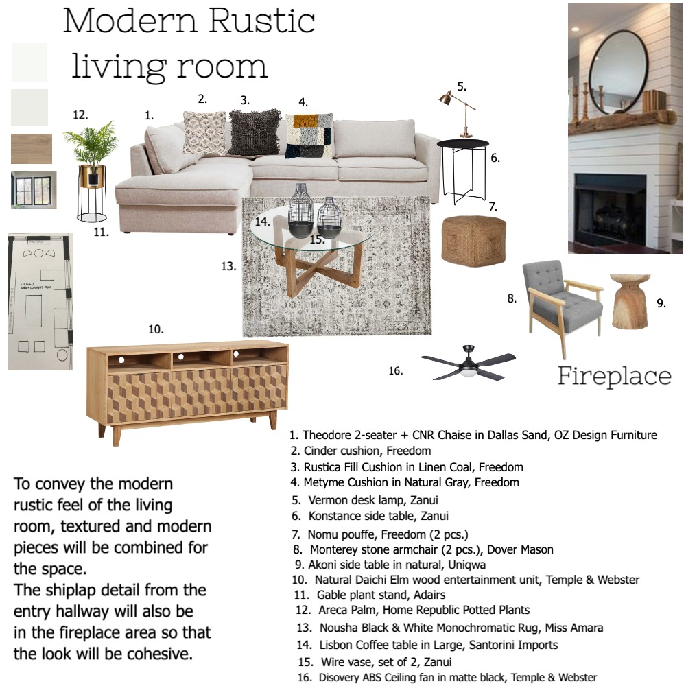 MRliving Interior Design Mood Board by Liaconcertina on Style Sourcebook