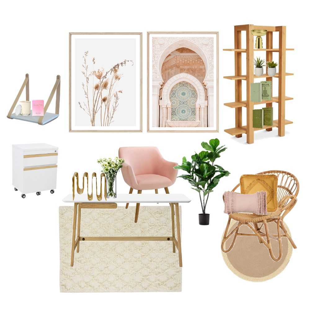 office Interior Design Mood Board by Inspired To Style on Style Sourcebook