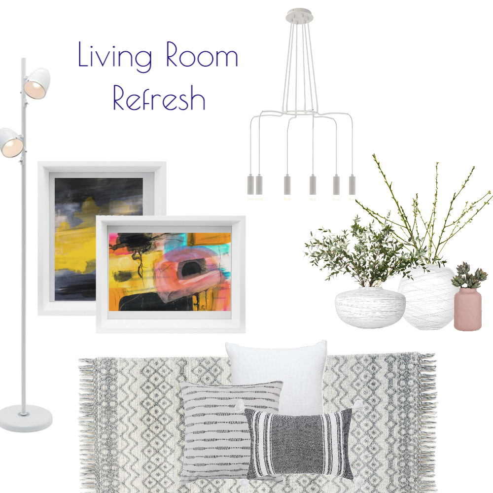 Living Room Refresh Interior Design Mood Board by Kohesive on Style Sourcebook
