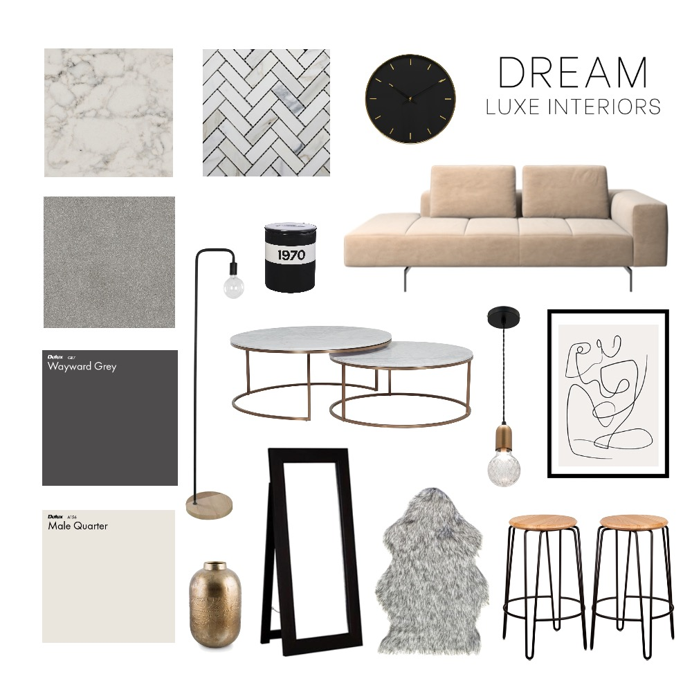 Loft style Interior Design Mood Board by Pesay on Style Sourcebook