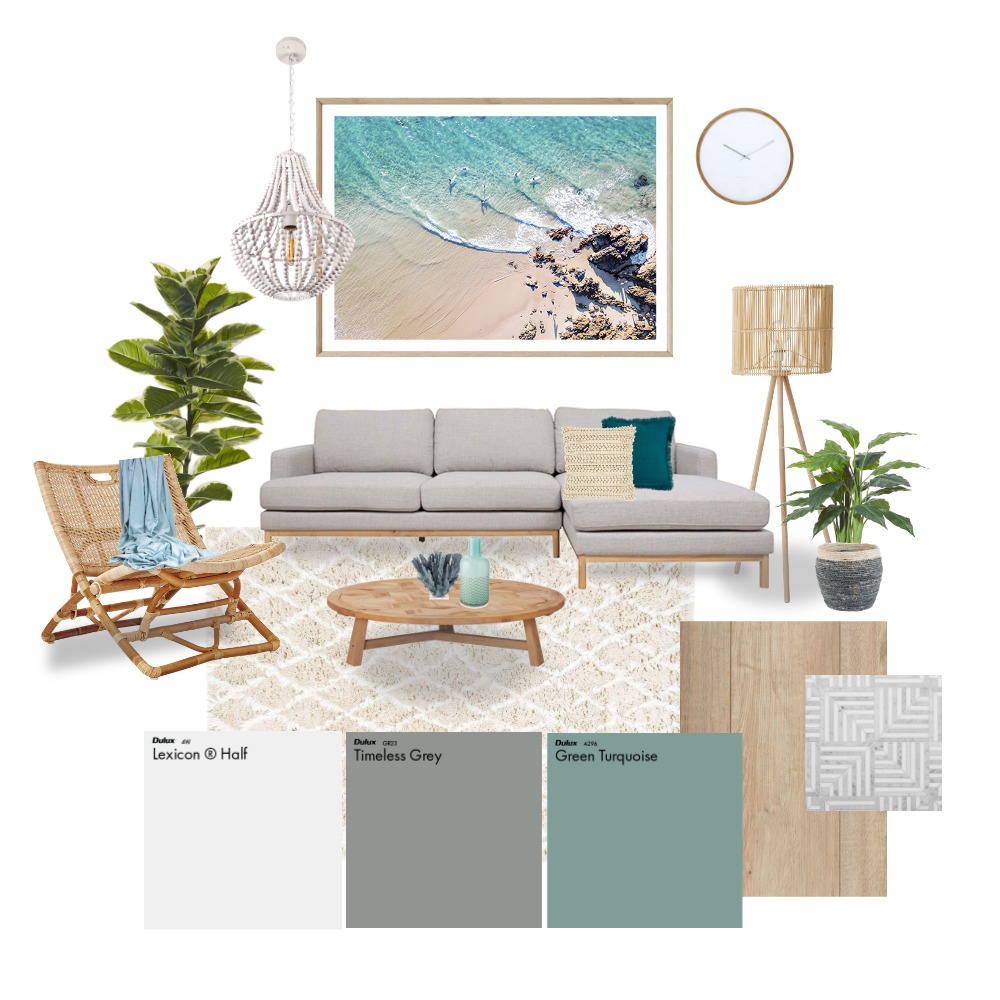 Coastal Moodboard Interior Design Mood Board by Creative Renovation Studio on Style Sourcebook