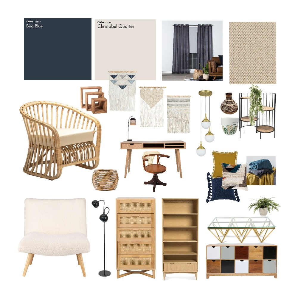 SAMPLE BOARD final Interior Design Mood Board by claudiaL on Style Sourcebook