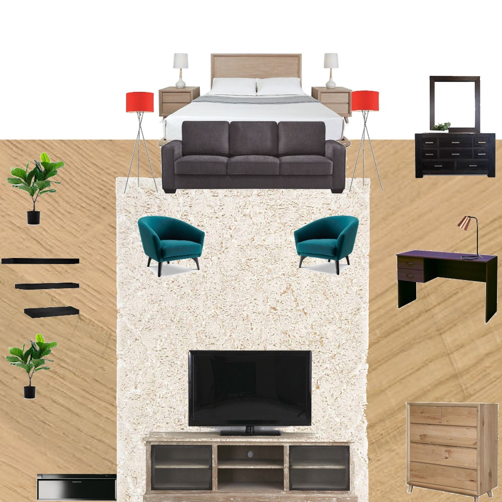 malachi dream bed Interior Design Mood Board by malachi seufale on Style Sourcebook