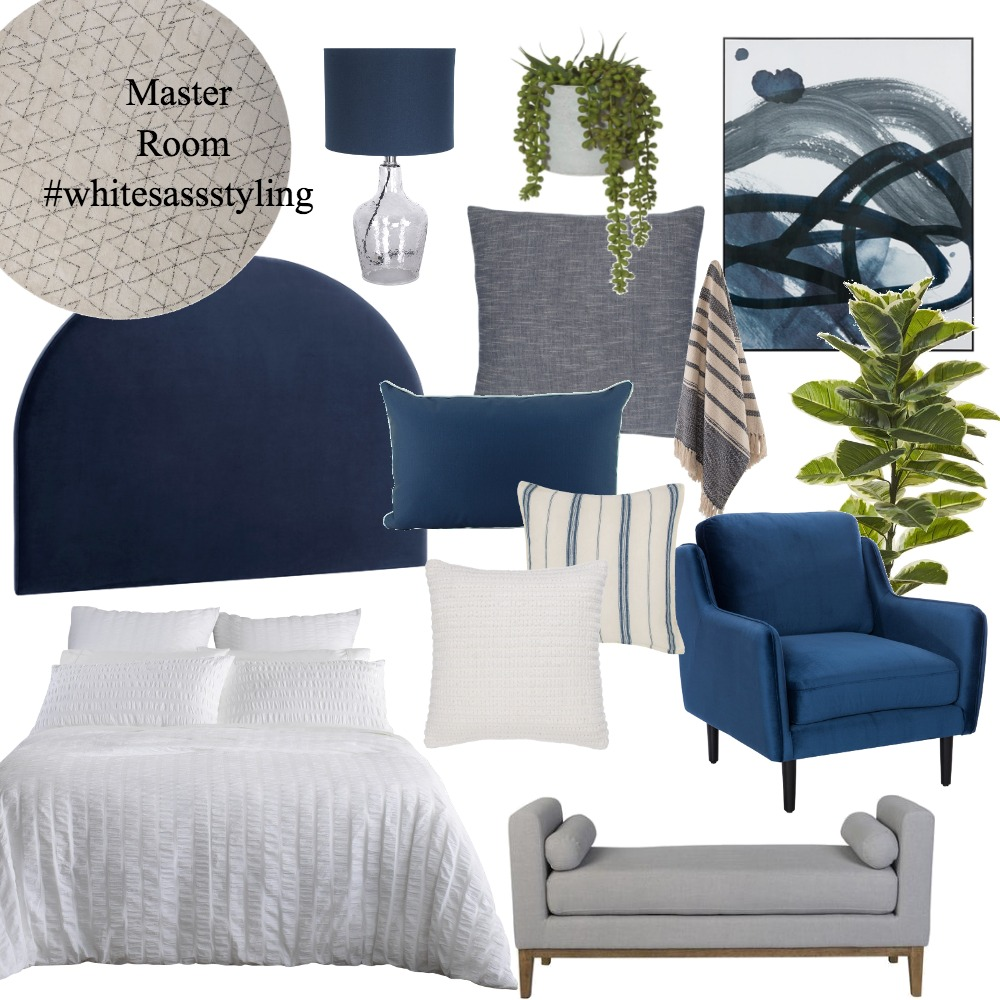 Master Room - 7/5 Mulkarra Ave Interior Design Mood Board by Whitesassstyling on Style Sourcebook