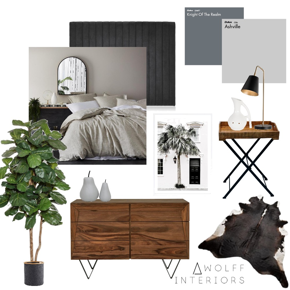 Master Suite Interior Design Mood Board by awolff.interiors on Style Sourcebook