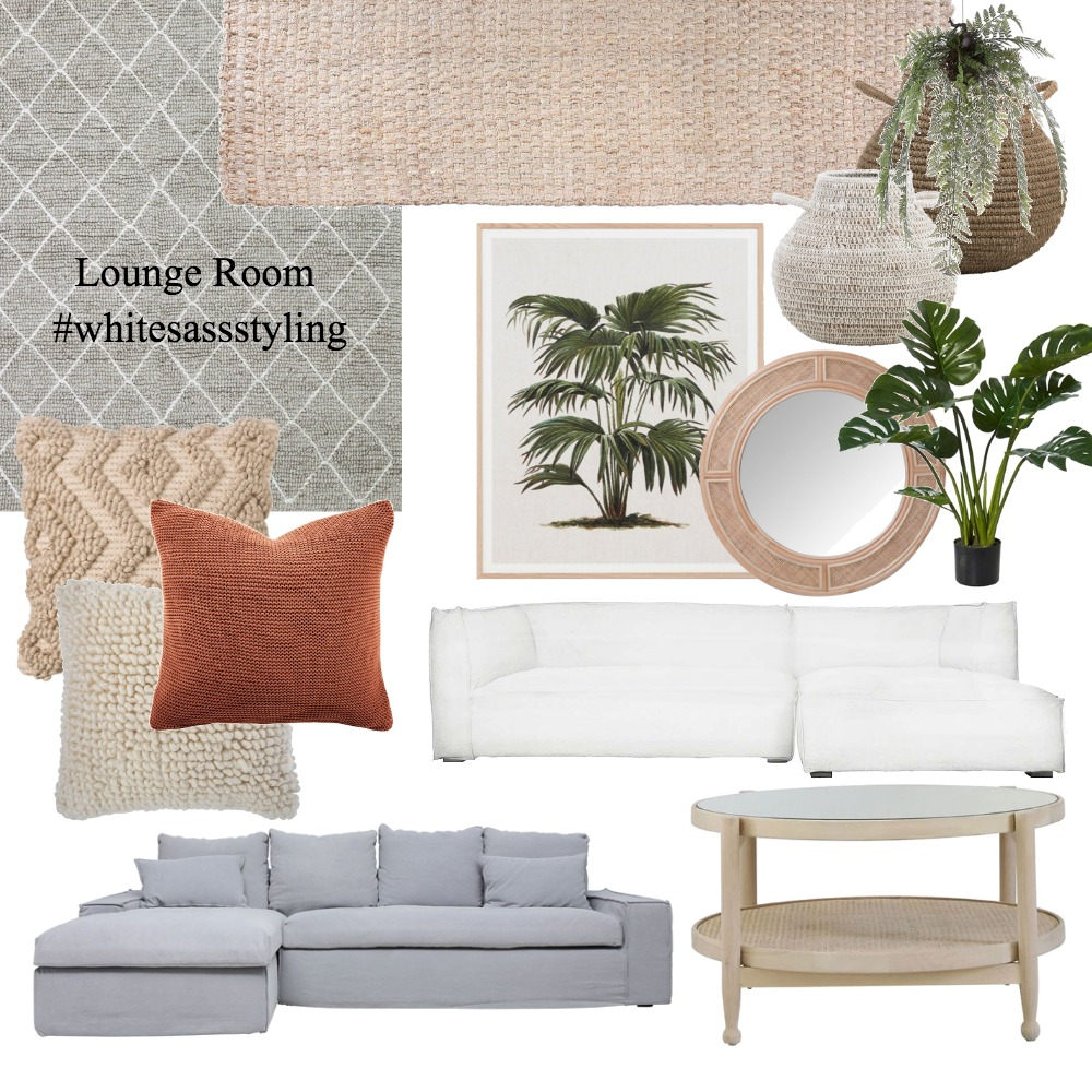Lounge Room - 7/5 Mulkarra Ave Interior Design Mood Board by Whitesassstyling on Style Sourcebook