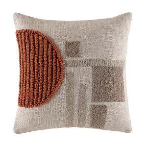 Frankie Cushion 50x50cm in Natural by OzDesignFurniture, a Cushions, Decorative Pillows for sale on Style Sourcebook