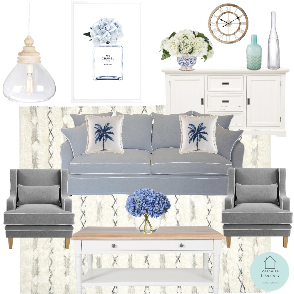 Lounge room 1 Interior Design Mood Board by Valhalla Interiors on Style Sourcebook