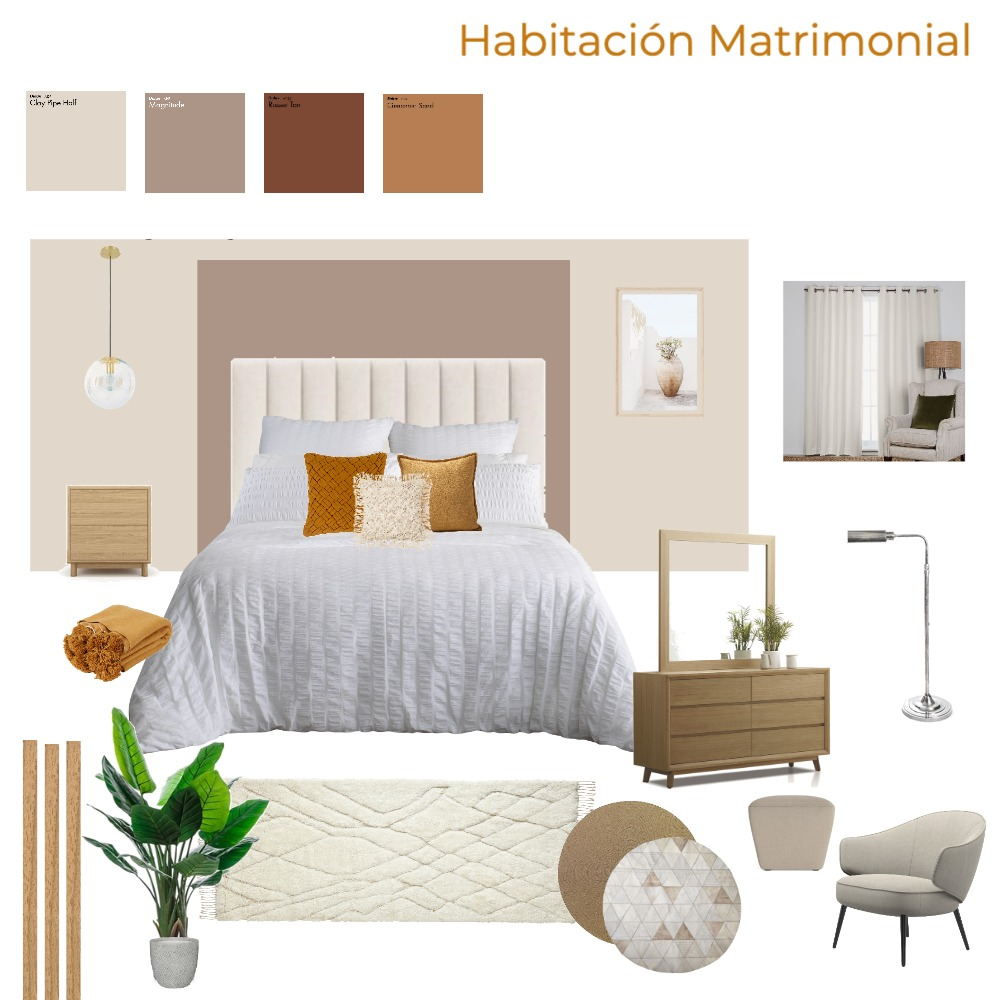 HABITACION MARU Interior Design Mood Board by patriciabordon24 on Style Sourcebook