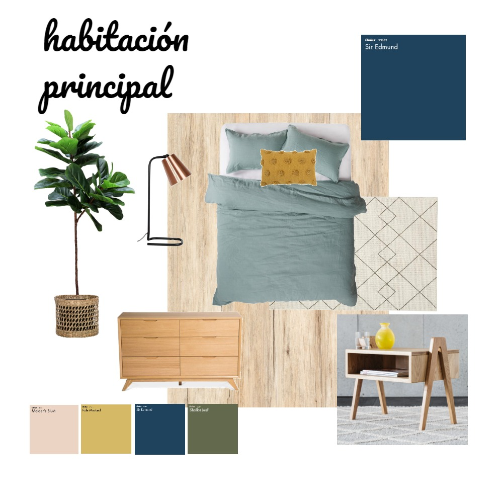 mi primer mood  practica Interior Design Mood Board by gise on Style Sourcebook