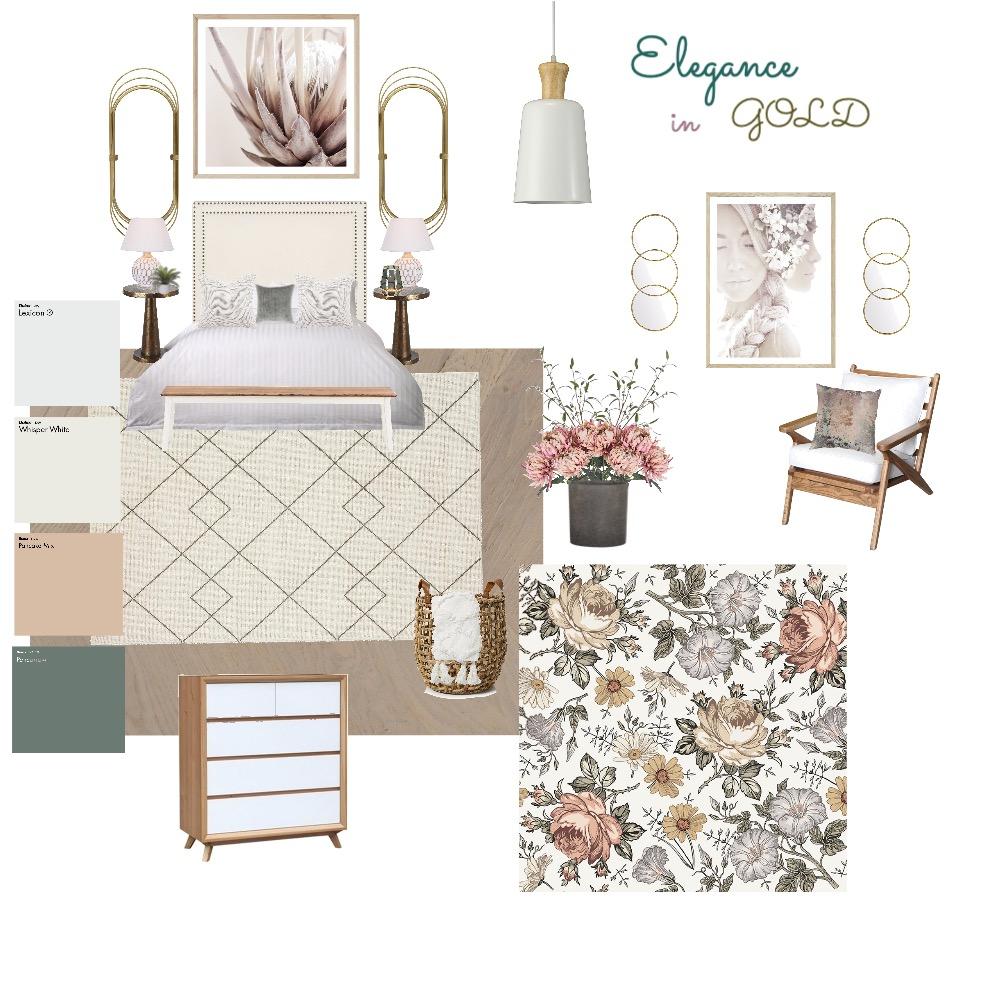 bedroom Interior Design Mood Board by N P DESIGNS LLC on Style Sourcebook