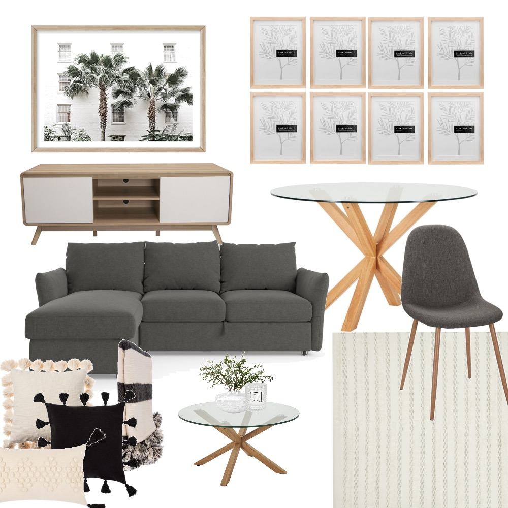 Living and dining Interior Design Mood Board by HandsOnInteriors on Style Sourcebook