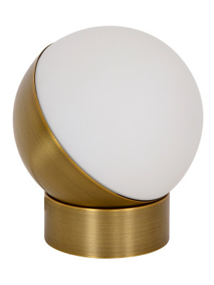 Mikoh Touch Table Lamp in Antique Brass by Beacon Lighting, a Desk Lamps for sale on Style Sourcebook
