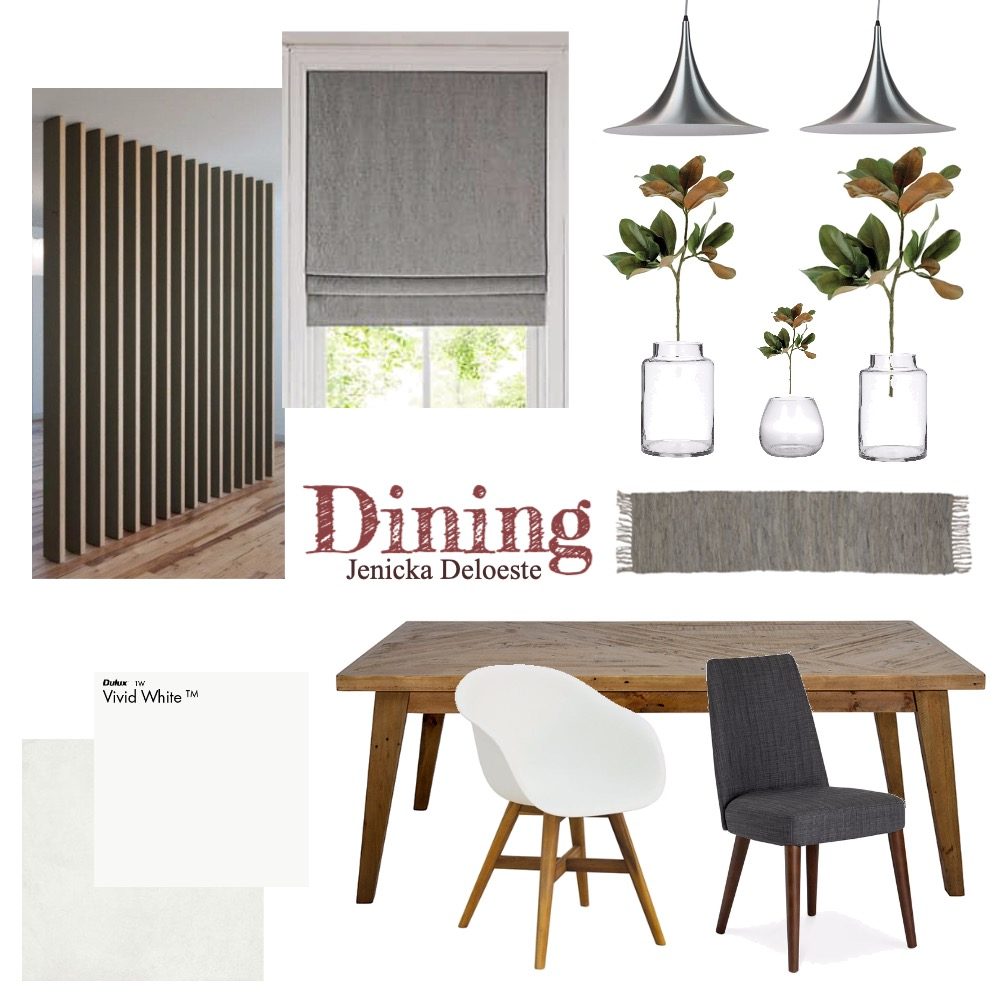 Dining Interior Design Mood Board by jenickadeloeste on Style Sourcebook