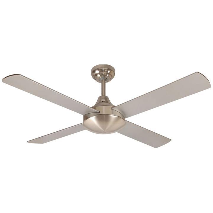 "Glendale Celing Fan, 120cm/48"", Brushed Chrome"