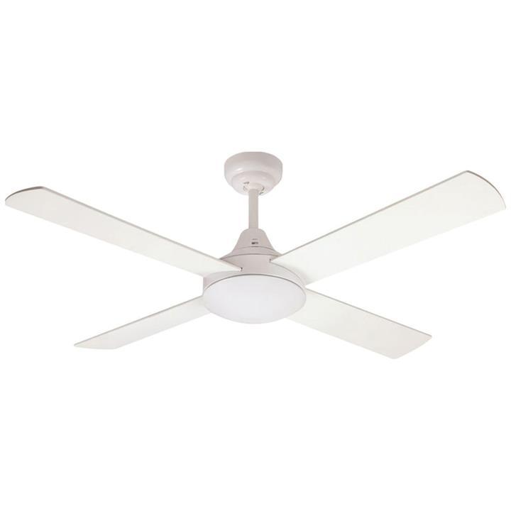 """Glendale Celing Fan, 120cm/48"""", White"""