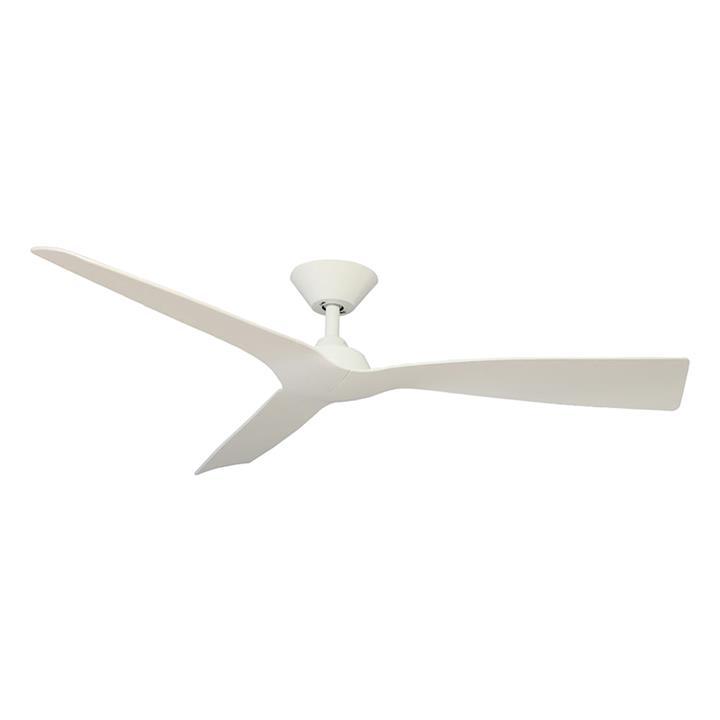 """Trinidad III DC Ceiling Fan, 130cm/52"""", White"""