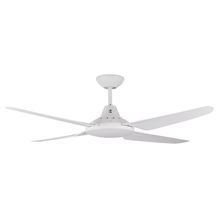 """Clare Indoor / Outdoor AC Ceiling Fan, 135cm/53"""", White"""
