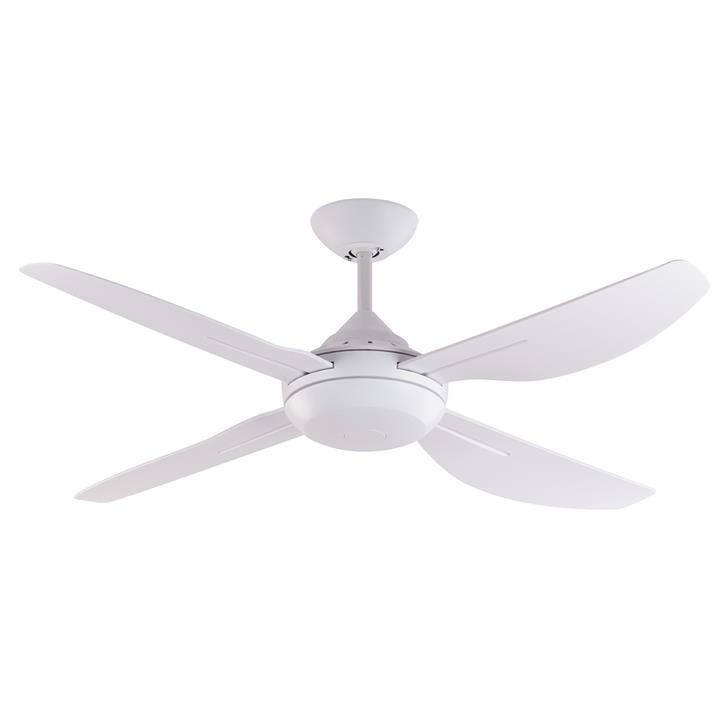 """Major Indoor / Outdoor Ceiling Fan, 122cm/48"""", White"""