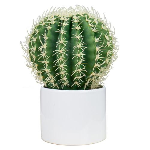 25cm Potted Faux Succulent Plant