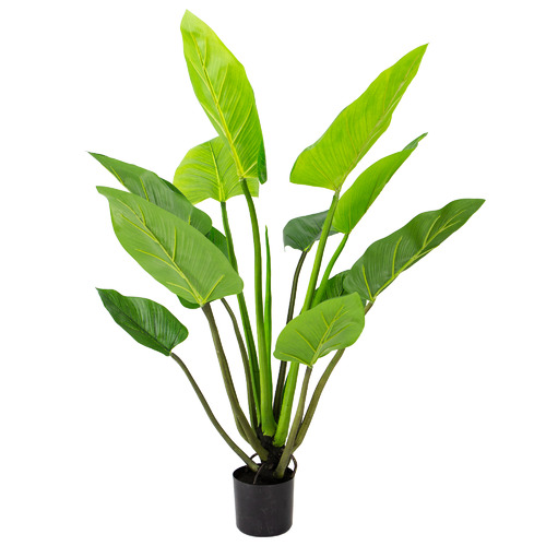 140cm Potted Faux Philodendron Plant
