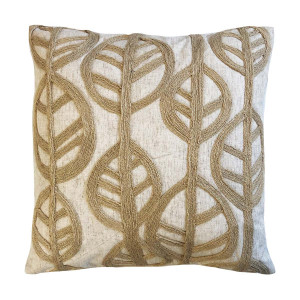 Baku Cushion 45x45cm in Linen/Jute Natural by OzDesignFurniture, a Cushions, Decorative Pillows for sale on Style Sourcebook