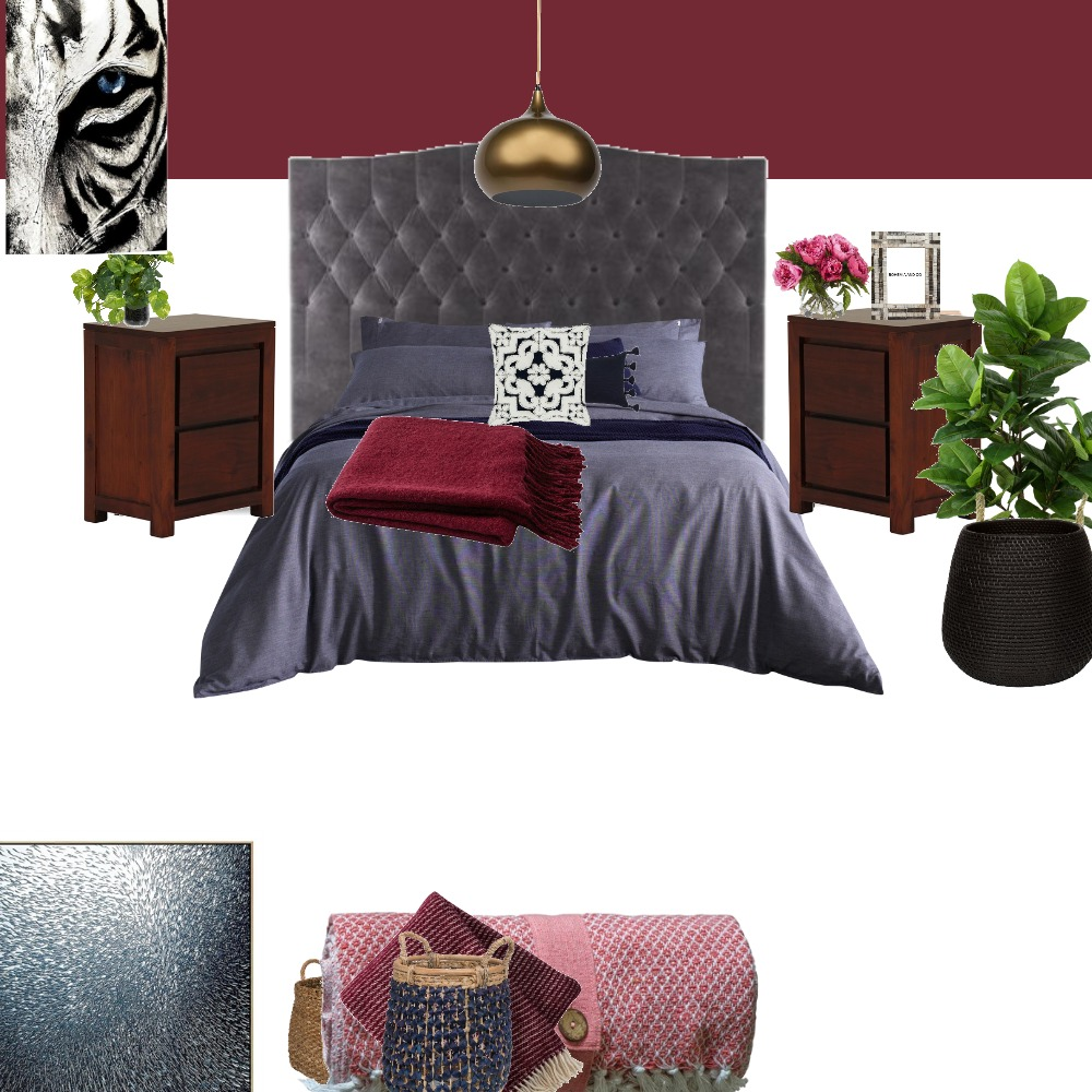 Main Bed Interior Design Mood Board by LisaMKB on Style Sourcebook