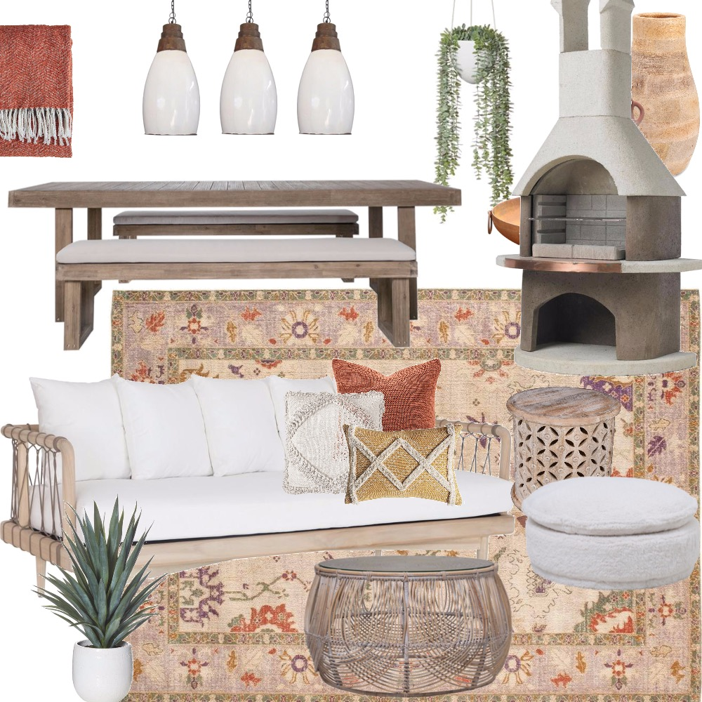 OUTDOOR CABANA Interior Design Mood Board by Breana on Style Sourcebook