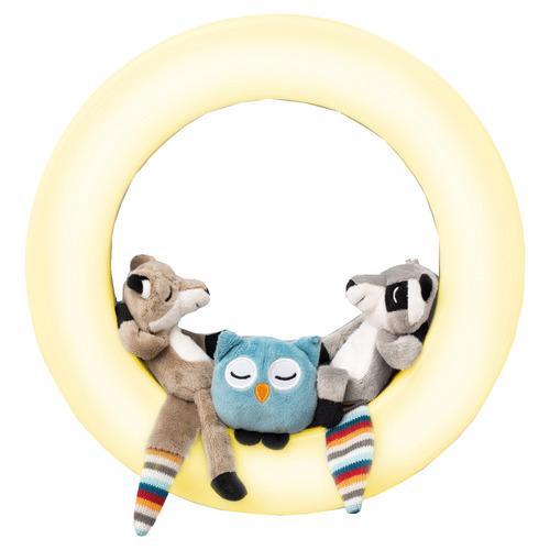 Kids' 4 Piece Rex Wall Light & Plush Toy Set