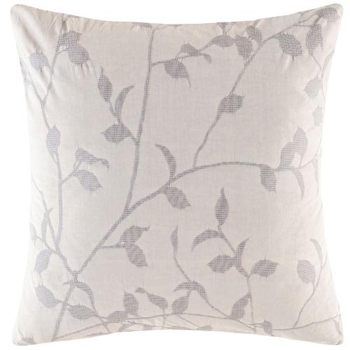 Silver Ophelia Cotton European Pillowcase