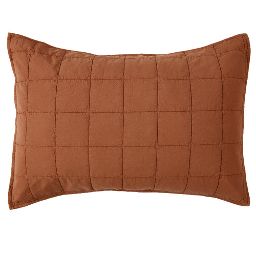 Set of 2 Clay Washed Cotton Pillowcases