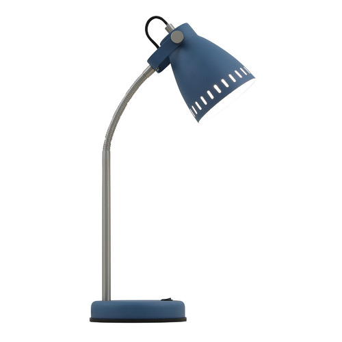 Alpha Metal Table Lamp Colour: Blue