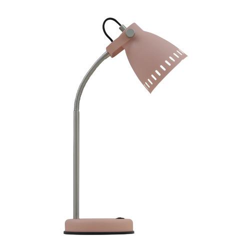 Alpha Metal Table Lamp Colour: Pink