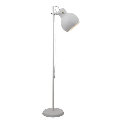Baka Metal Spotlight Floor Lamp Colour: White