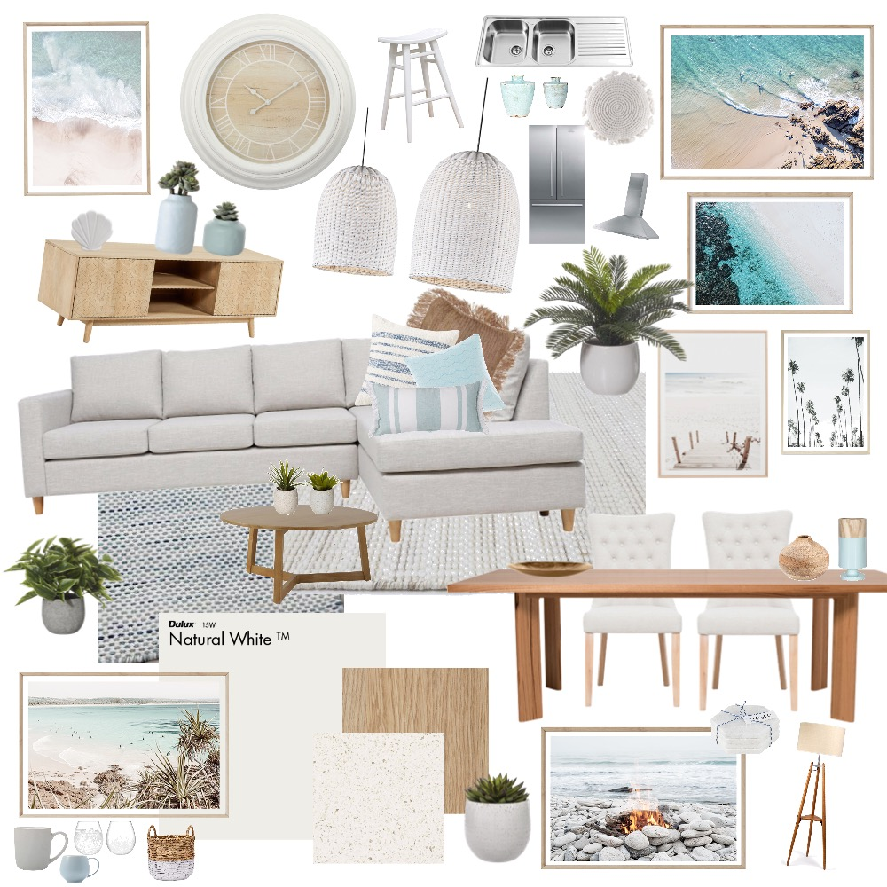 Living & Kitchen Interior Design Mood Board by Our.Westlake.Build on Style Sourcebook