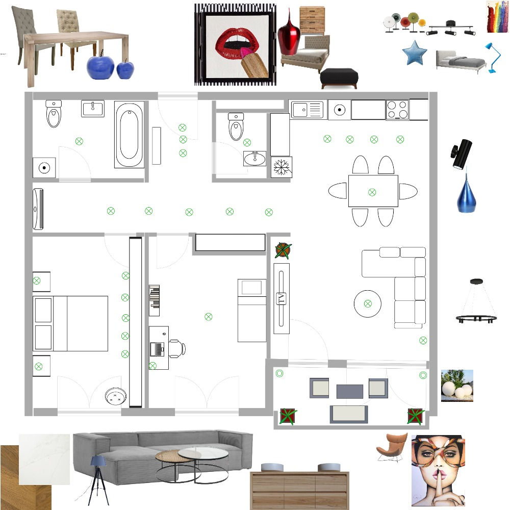 diplomski rad Interior Design Mood Board by Danijela on Style Sourcebook