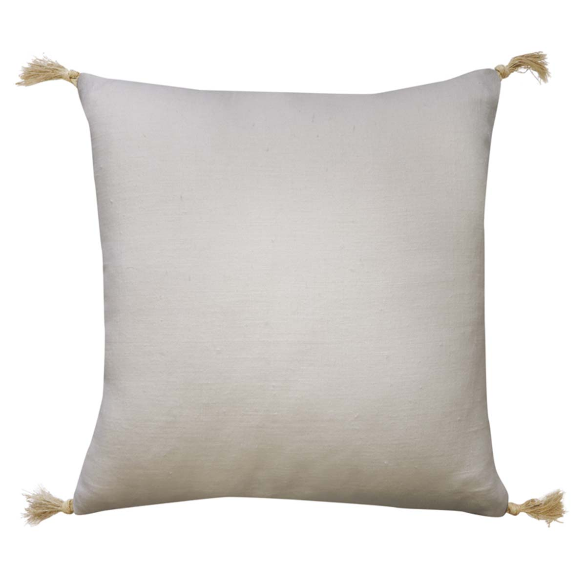 GOA FEATHER FILL CUSHION 55X55CM in off white