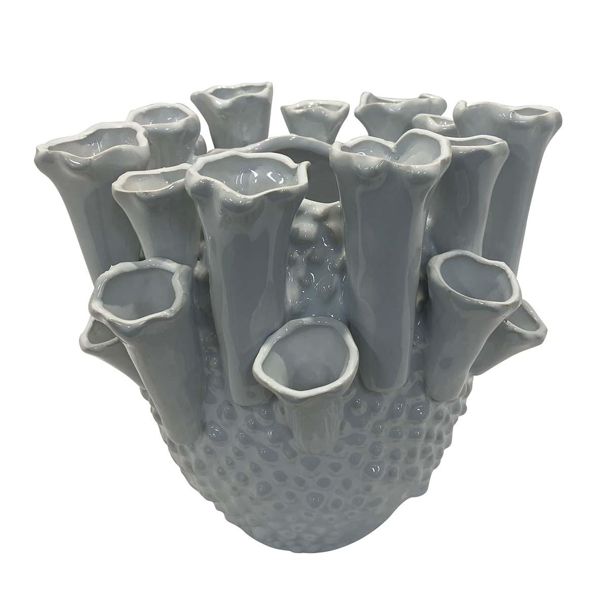 Mode Trumpet Vase 22x21cm in Ceramic