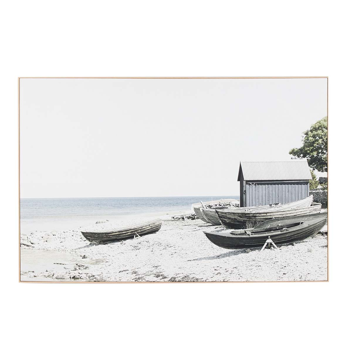 FISHERMANS COVE BOX FRAMED CANVAS in 150 x 100cm