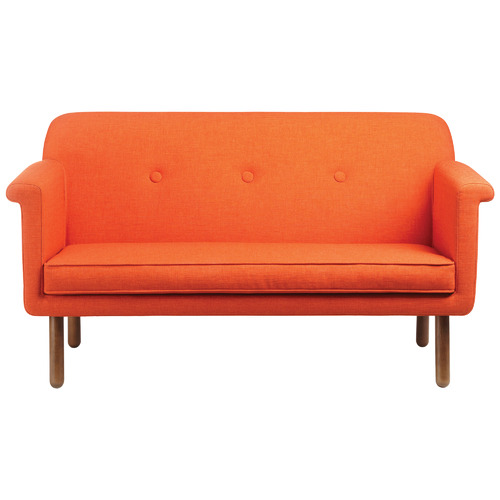 2 Seater Button Tufted Upholstered Sofa