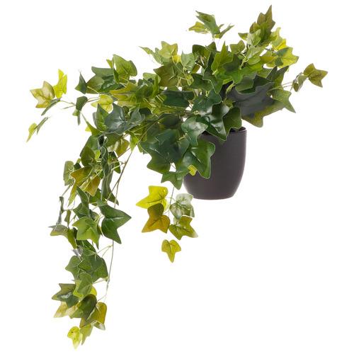 78cm Potted Faux Sweet Potato Leaf Hanging Plant