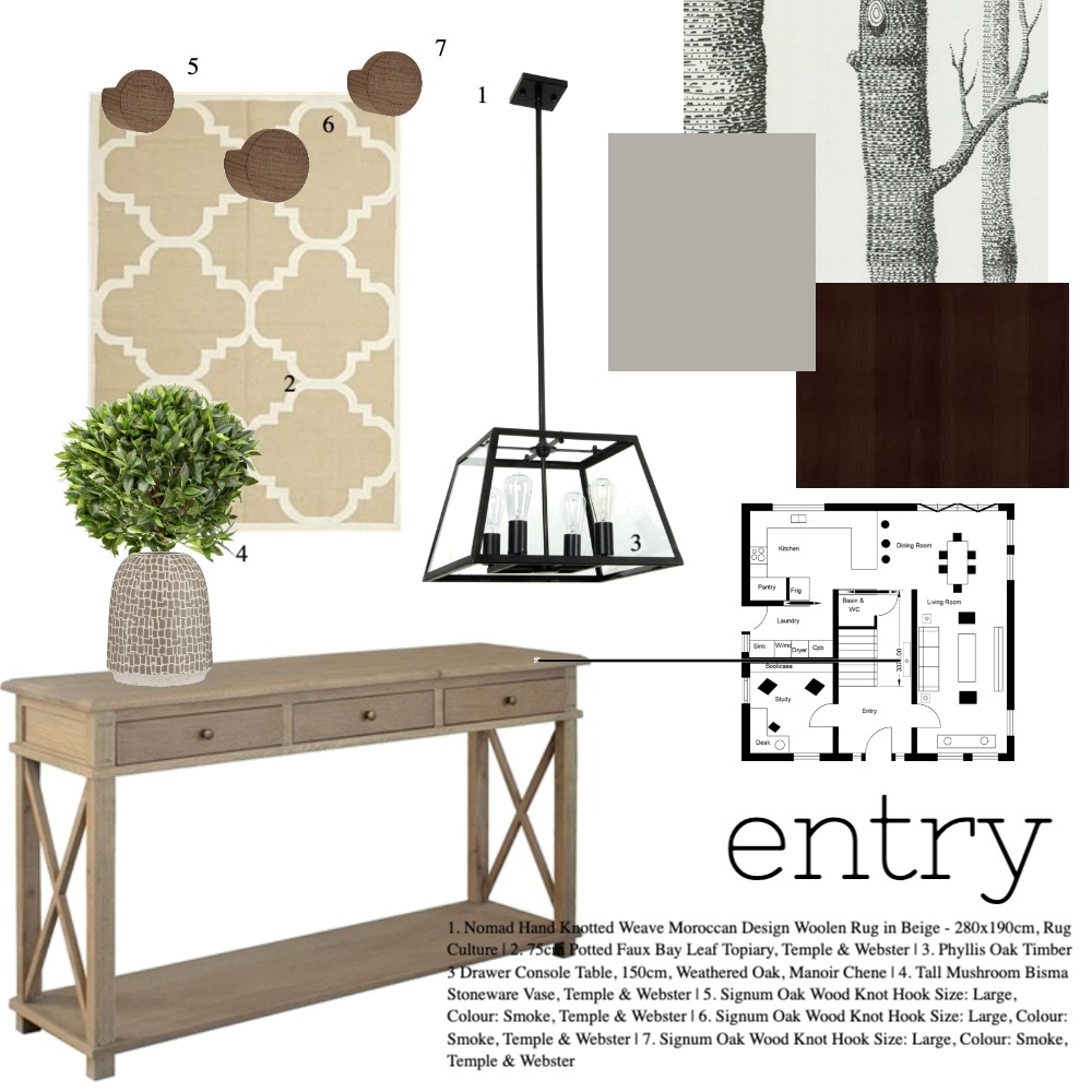 assignment 9 Interior Design Mood Board by Zhush It on Style Sourcebook