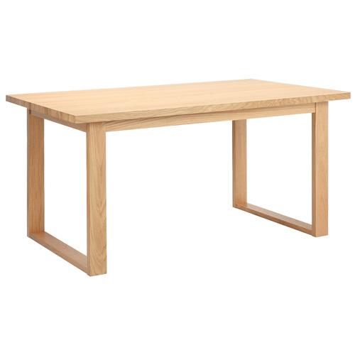 Oak Ski-Leg Dining Table Size: 150cm