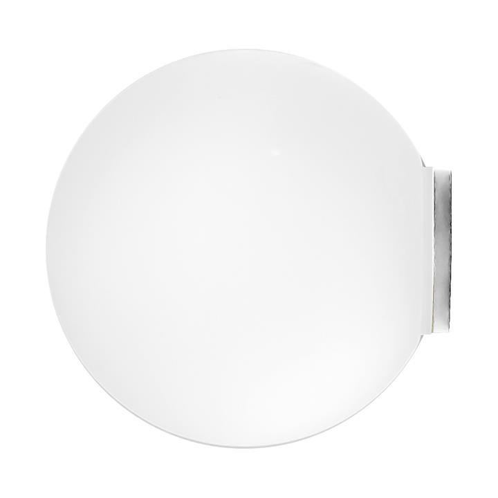 Orb Mirror Wall Light, Medium, Chrome