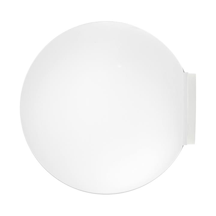 Orb Mirror Wall Light, Small, White