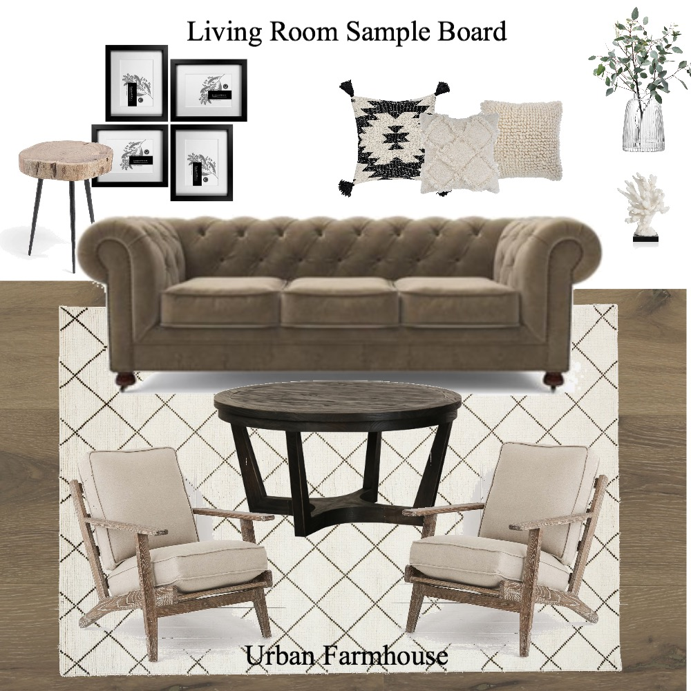 living room sample board Interior Design Mood Board by erladisgudmunds on Style Sourcebook