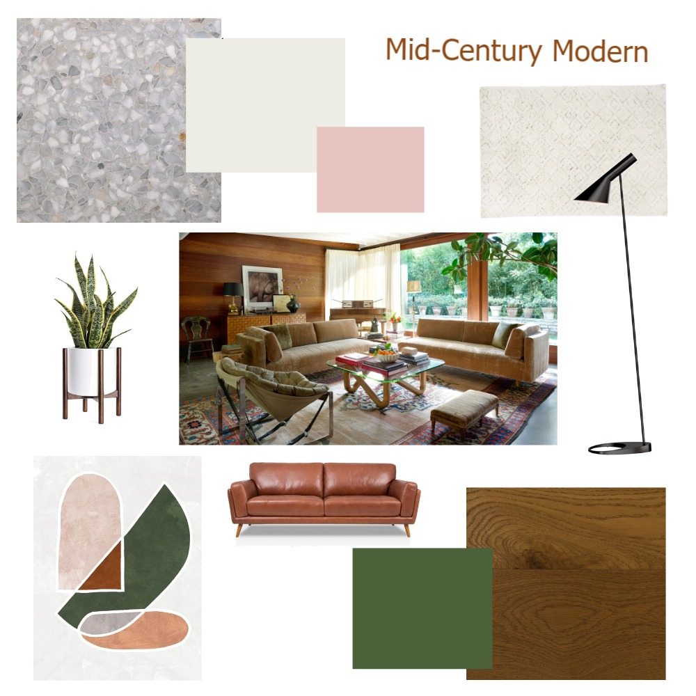 1. Mid-Century Modern Interior Design Mood Board by lozzyh84 on Style Sourcebook